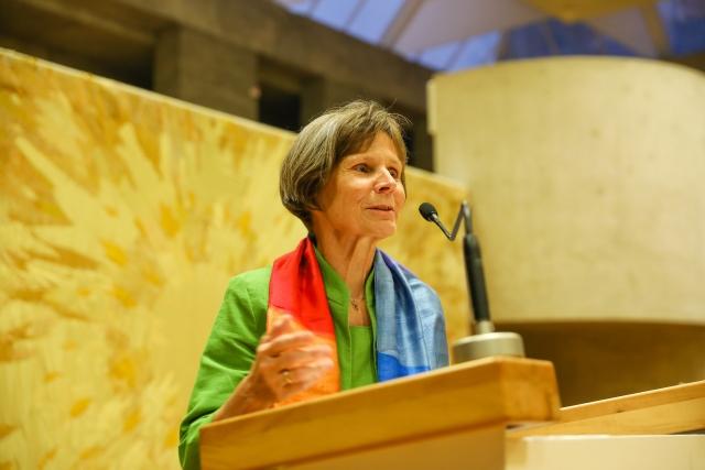 Sr. Christine Rod ist seit 2020 Generalsekretärin der Österreichischen Ordenskonferenz. (c) Msb